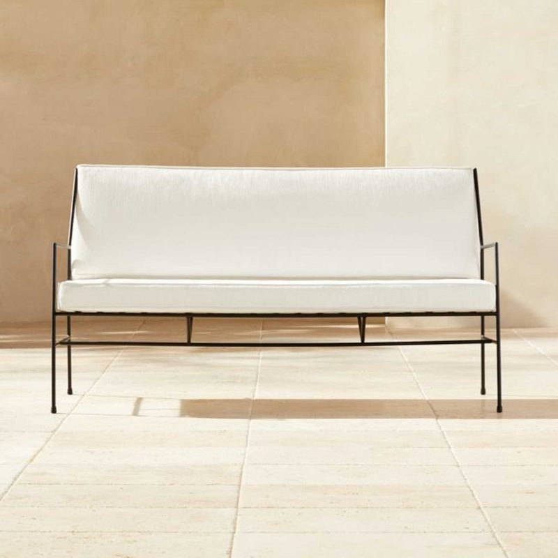 CB2 Outdoor sofa