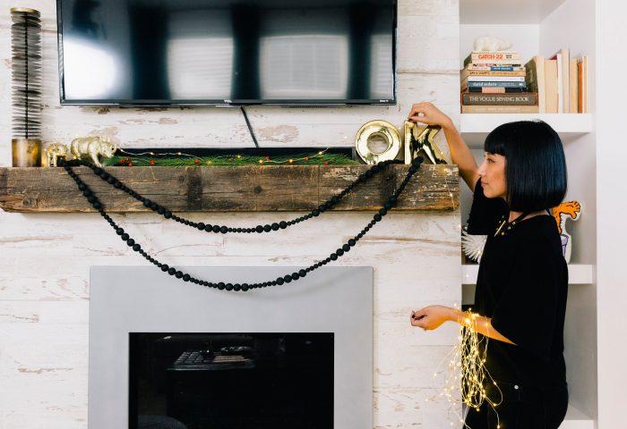 7 Steps to a Stylish Fireplace Mantel