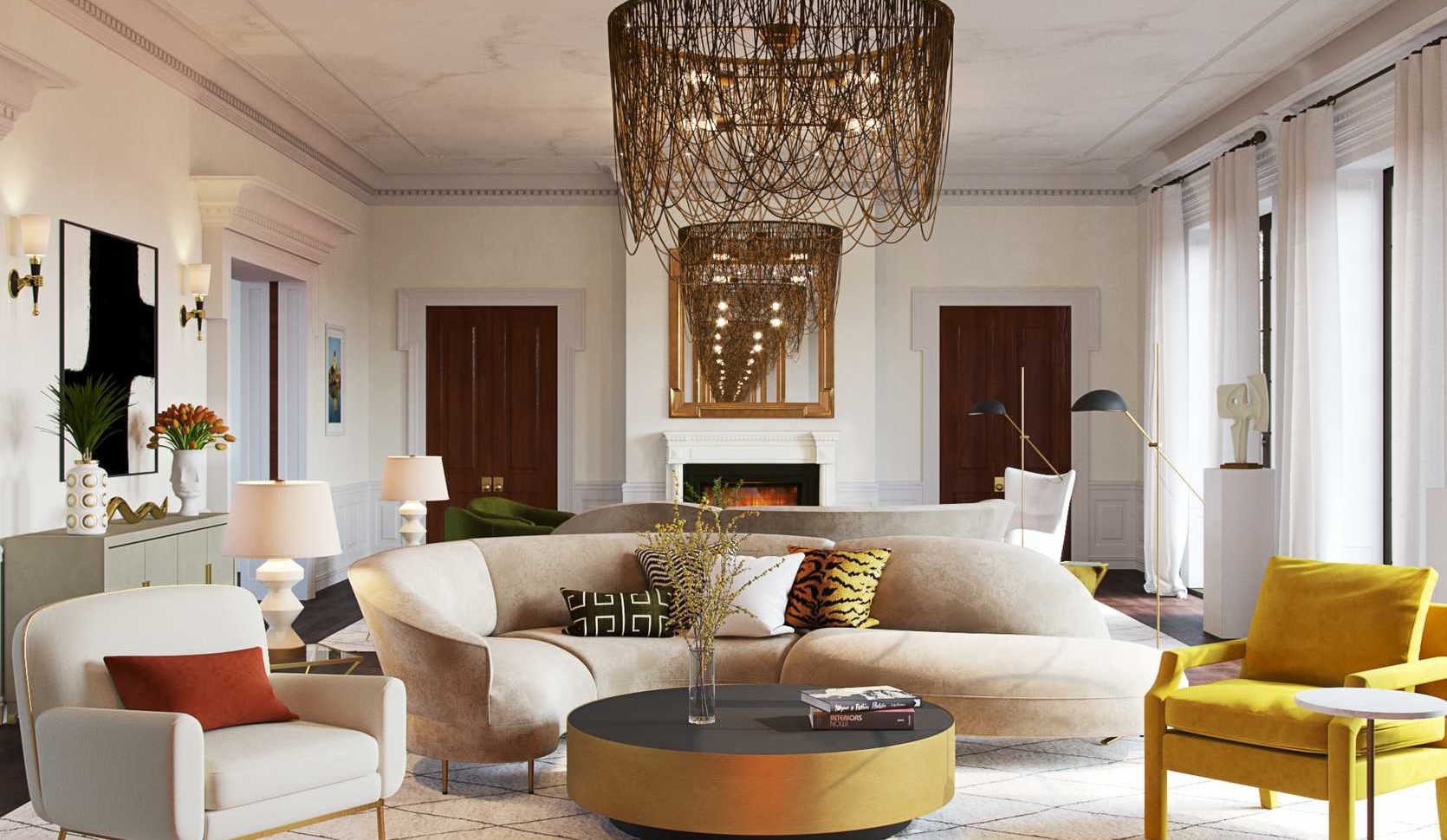 20 Ways to Create a Calm, Cool, Contemporary Living Room   Havenly ...