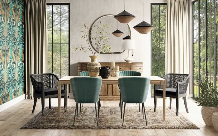 How to Serve Up an Eclectic Dining Room