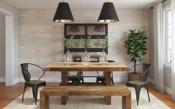 5 Rustic Dining Rooms That Aren't Log-Cabin Living