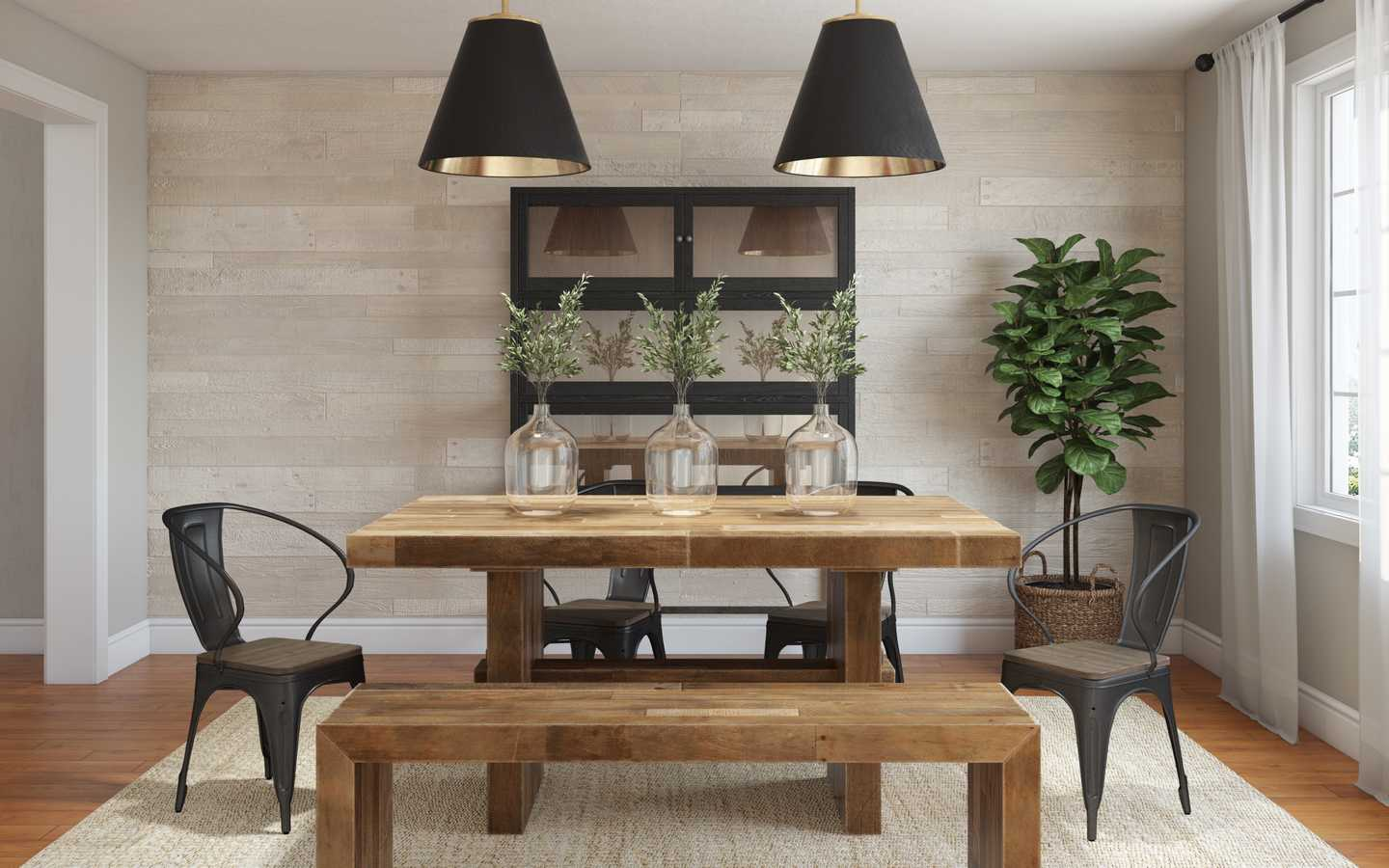 5 Rustic Dining Rooms That Aren T Log, Rustic Dining Room