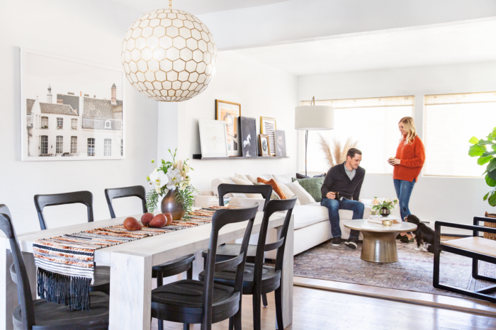 This Newlywed Home Marries Styles for a Chic Parisian Farmhouse Vibe