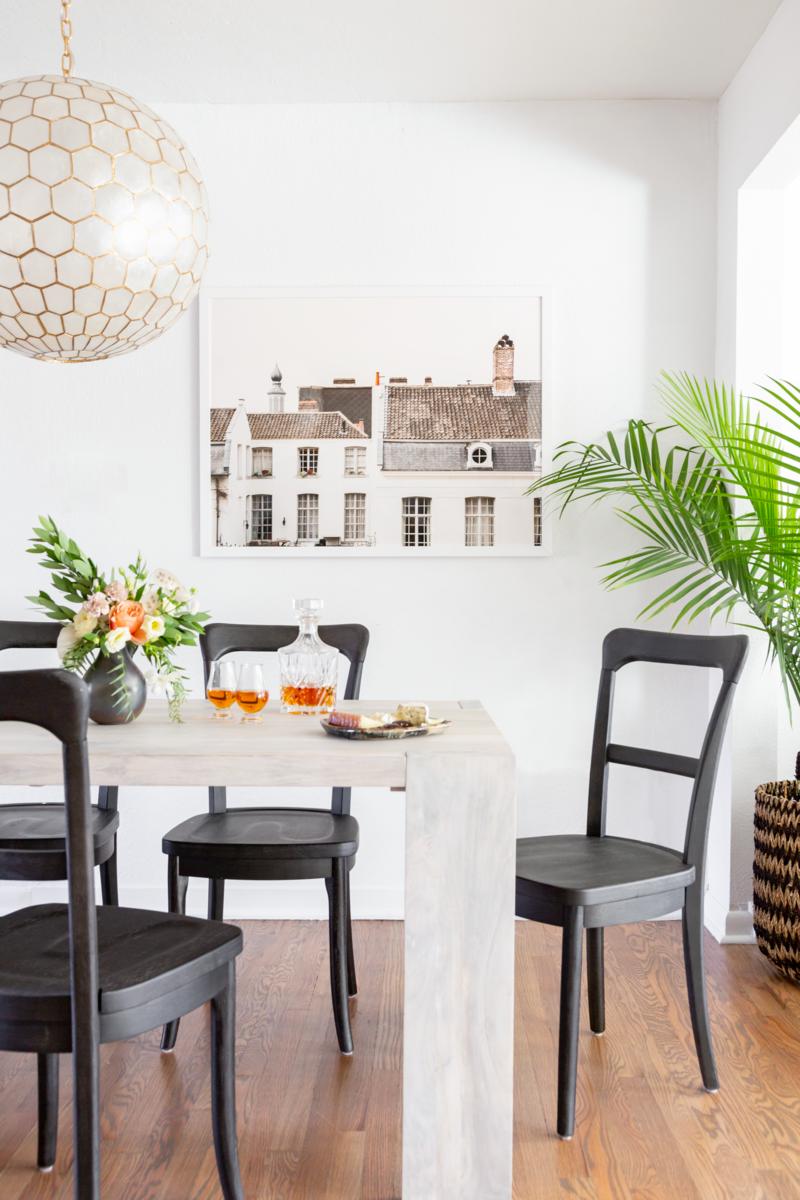 Parisian Modern dining table