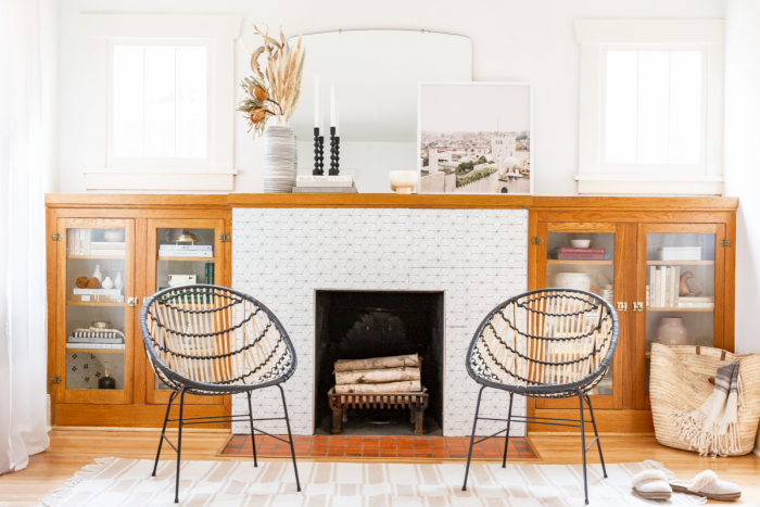 How These Designers Painted Their Dated Tile for a Modern Makeover