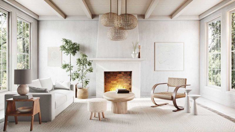 Woven Curved Chair