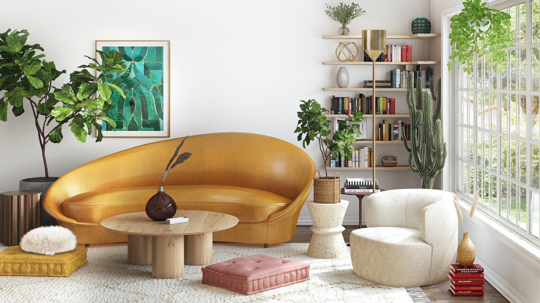 Curved Furniture Ideas
