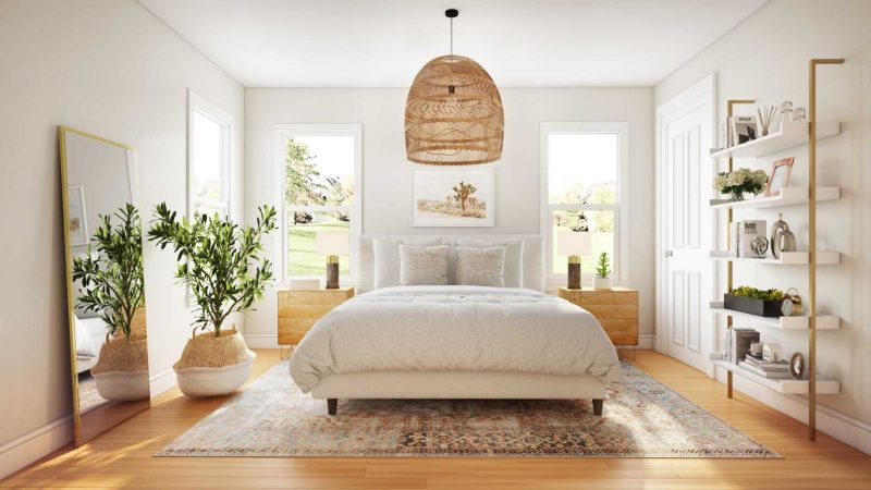 white bedroom paint color