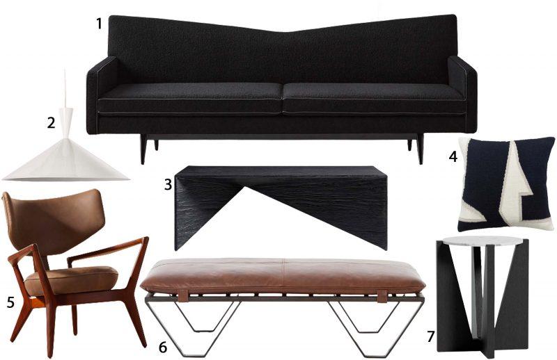 Angular furniture