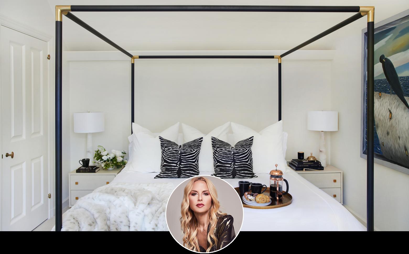rachel zoe guest bedroom