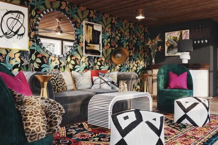 """The Art of Maximalism: How to Nail the """"Eclectic"""" Look in Your Space"""