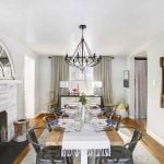 A dining room that hits the design sweet spot!