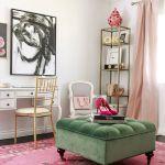 LA style bloggers dream office makeover