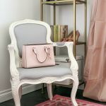 dream office makeover with parisian dining chair and soft feminine accents