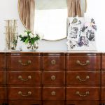 dream office makeover - antique dresser