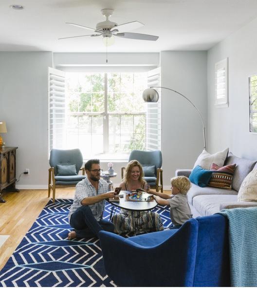 Modern Office Calm Bedroom Family Room