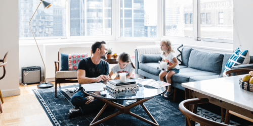 interior design my house. Living room makeover for a city dad and his kids Online Interior Design  Decorating Services Havenly